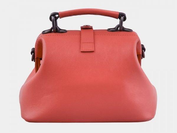Удобная розово-оранжевая сумка с росписью ATS-2928