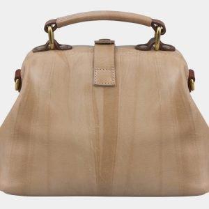 Модная бежевая сумка с росписью ATS-2927 213928