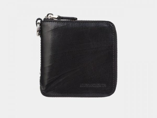 Модный черный портмоне ATS-2883