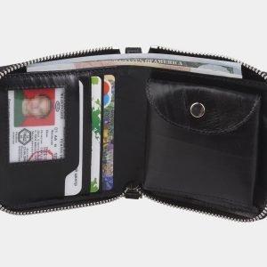 Модный черный портмоне ATS-2883 214072