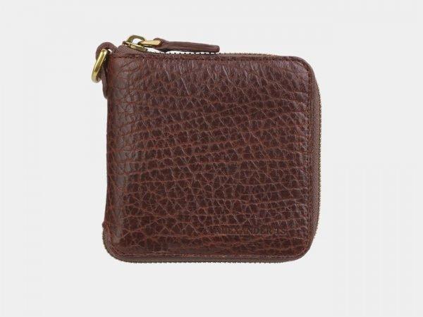 Кожаный светло-коричневый портмоне ATS-2884