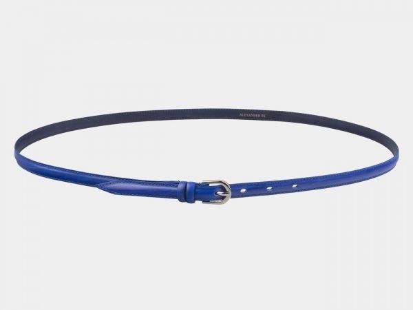 Удобный голубовато-синий женский модельный ремень ATS-2886