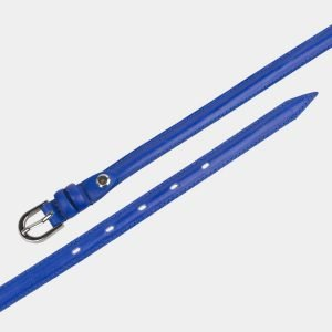 Удобный голубовато-синий женский модельный ремень ATS-2886 214060