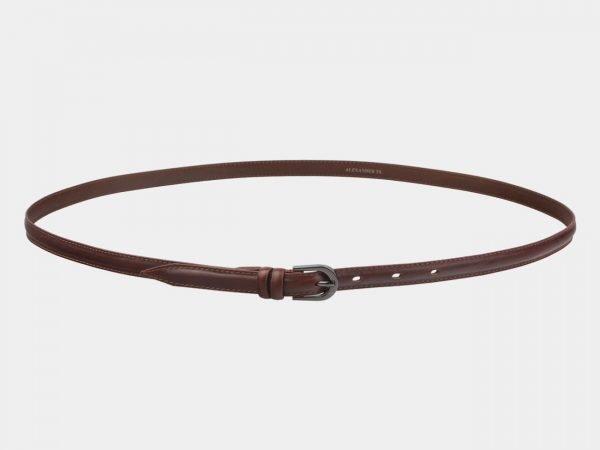 Неповторимый светло-коричневый женский модельный ремень ATS-2891