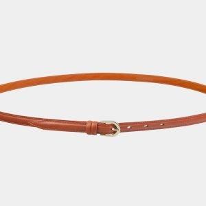 Стильный оранжевый женский модельный ремень ATS-2893