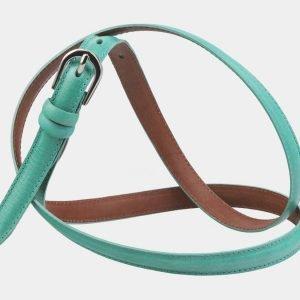 Неповторимый зеленый женский модельный ремень ATS-2894 214029