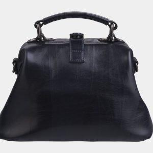 Уникальная черная сумка с росписью ATS-2267 215550