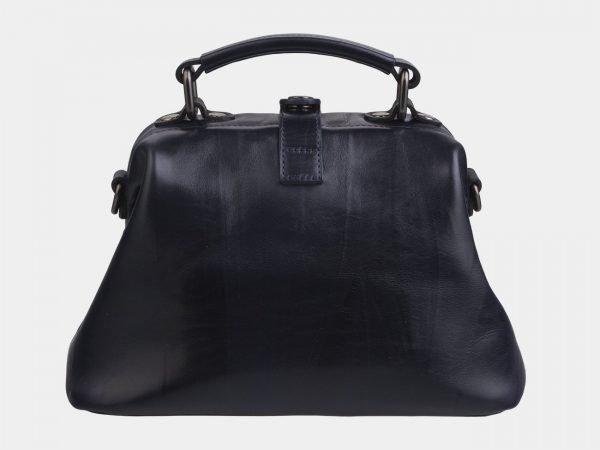 Стильная черная сумка с росписью ATS-2267