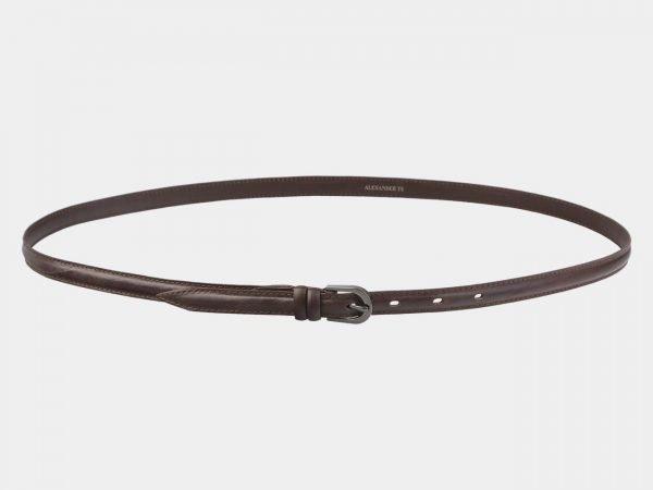 Солидный коричневый женский модельный ремень ATS-2895