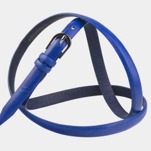 Солидный голубовато-синий женский модельный ремень ATS-2899 214009