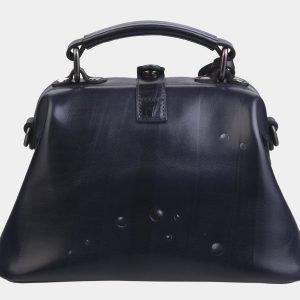 Уникальная синяя сумка с росписью ATS-2281 215527
