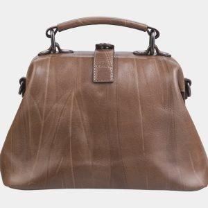 Деловая бежевая сумка с росписью ATS-2283 215517