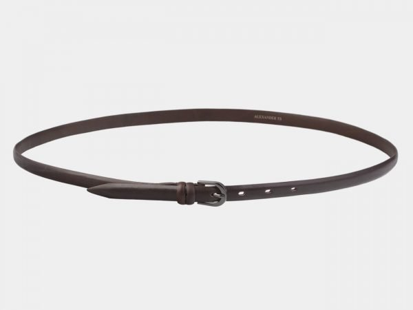 Удобный коричневый женский модельный ремень ATS-2910