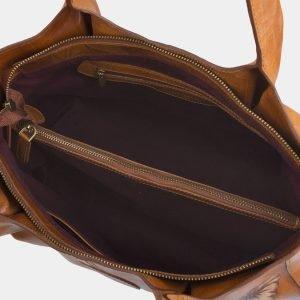 Деловая светло-жёлтая сумка с росписью ATS-2284 215513