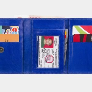 Удобный голубовато-синий аксессуар с росписью ATS-2929 213919