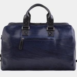 Солидная синяя сумка с росписью ATS-2931 213909