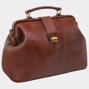 Функциональная светло-коричневая женская сумка ATS-2429 215215