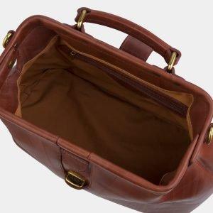 Функциональная светло-коричневая женская сумка ATS-2429 215217