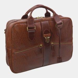 Вместительный светло-коричневый мужской портфель ATS-2915 213950