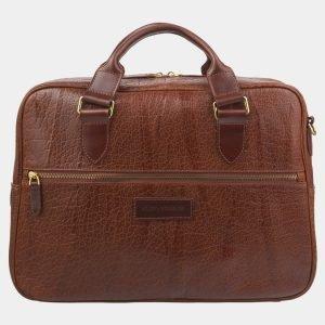 Вместительный светло-коричневый мужской портфель ATS-2915 213951