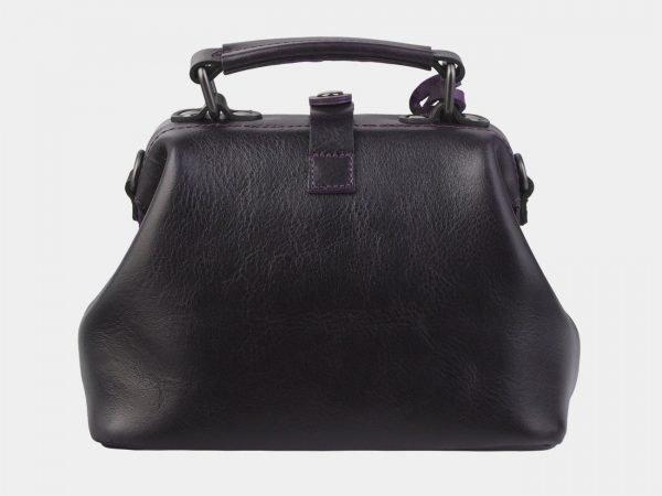 Модная темно-бордовая сумка с росписью ATS-2938