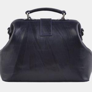 Уникальная синяя сумка с росписью ATS-2941 213860