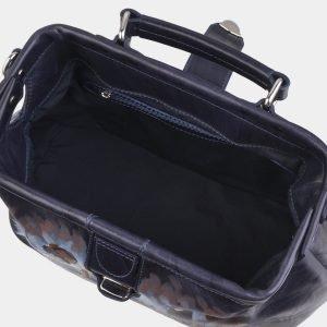 Уникальная синяя сумка с росписью ATS-2941 213861