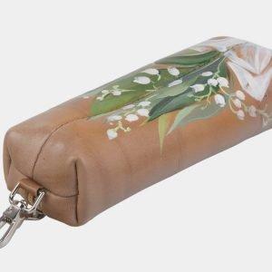 Модный бежевый аксессуар с росписью ATS-2944 213850