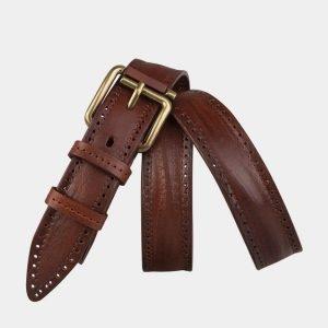Удобный светло-коричневый женский модельный ремень ATS-3551 212091