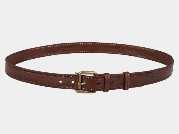Удобный светло-коричневый женский модельный ремень ATS-3551