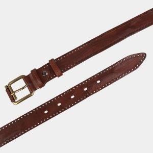Удобный светло-коричневый женский модельный ремень ATS-3551 212090