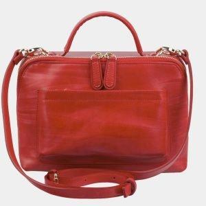 Вместительная красная женская сумка ATS-2972