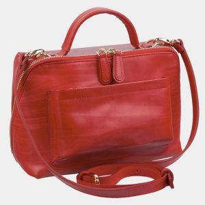 Вместительная красная женская сумка ATS-2972 213764