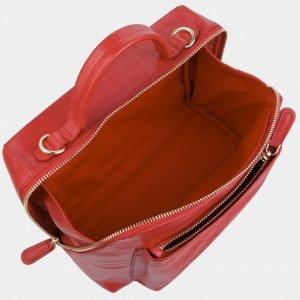 Вместительная красная женская сумка ATS-2972 213766