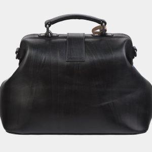 Модная черная сумка с росписью ATS-2967 213790