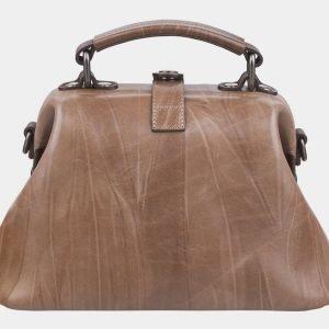 Модная бежевая сумка с росписью ATS-2314 215497