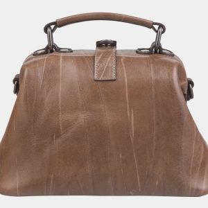 Функциональная бежевая сумка с росписью ATS-2317 215492