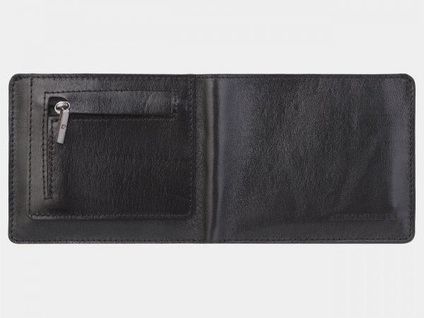 Кожаный черный портмоне ATS-2953