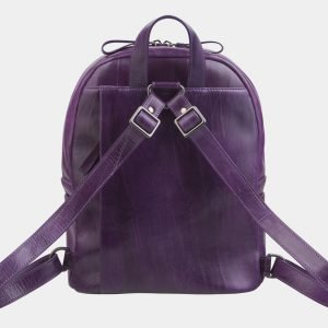 Функциональный фиолетовый рюкзак с росписью ATS-2324 215470