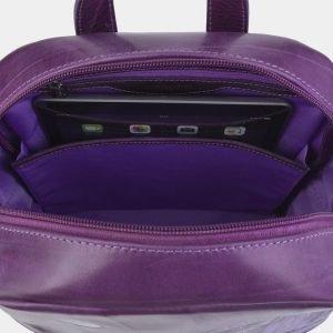 Функциональный фиолетовый рюкзак с росписью ATS-2324 215471