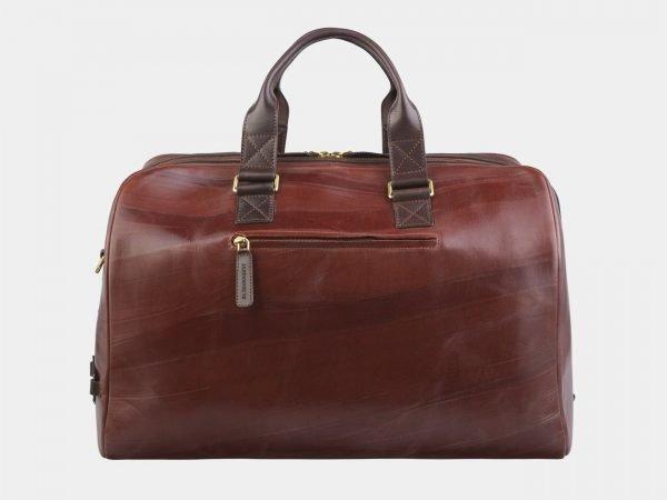 Модная светло-коричневая сумка с росписью ATS-2971