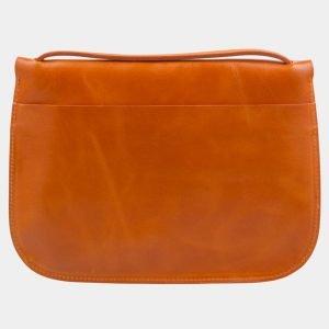 Неповторимый оранжевый клатч с росписью ATS-2321
