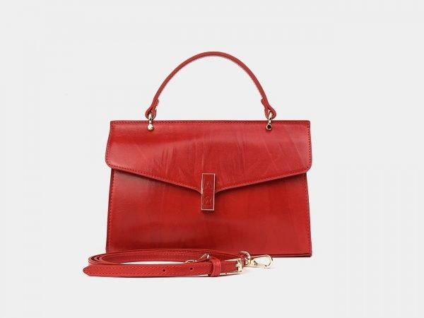 Модная красная женская сумка ATS-3583