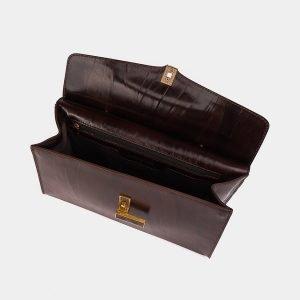 Деловая коричневая женская сумка ATS-3566