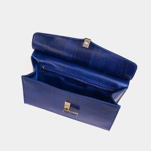 Неповторимая голубовато-синяя женская сумка ATS-3568 212037