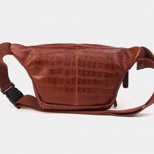 Уникальная светло-коричневая женская сумка на пояс ATS-3572 212021