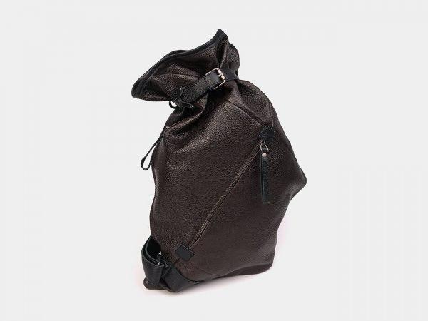 Функциональный коричневый рюкзак кожаный ATS-3578