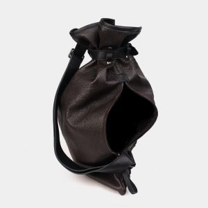Функциональный коричневый рюкзак кожаный ATS-3578 211986