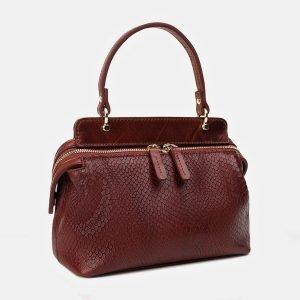 Солидный светло-коричневый женский клатч ATS-3392 212631