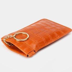 Солидная темно-оранжевая ключница ATS-3379 212664